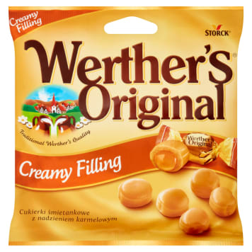 WERTHER'S ORIGINAL Candy cream with caramel filling 80 g