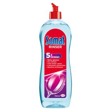 Płyn nabłyszcający 750 ml- Somat. Dokładnie oczyszcza naczynia.