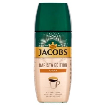 JACOBS Barista Edition Instant coffee and ground coffee beans Crema 95g