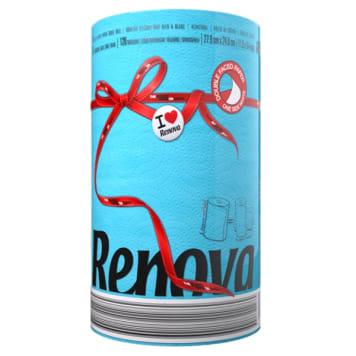 RENOVA Red Label Blue paper towel 1pc