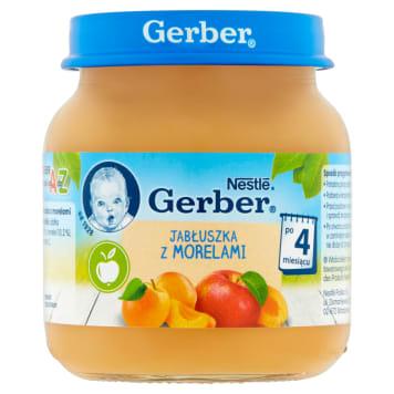 Gerber Deserek - Jabłuszka z morelami - Po 4 miesiącu. Gwarancja zadowolenia maluszków.
