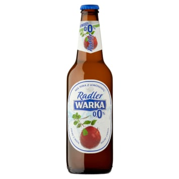 WARKA Radler Non-alcoholic beer Apple and Mint 500ml