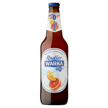 WARKA Radler Piwo bezalkoholowe Grejpfrut i Pomarańcza 500ml