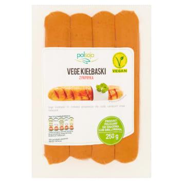 Wegańskie kiełbaski grillowe z papryką - Polsoja to smaczna alternatywa dla wyrobów mięsnych.