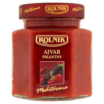 ROLNIK Premium Ajvar - paste paprica and eggplant spicy 314ml