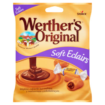 WERTHER'S ORIGINAL Caramel candies with chocolate filling 70 g