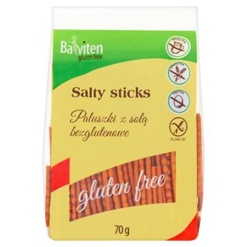 Balviten - paluszki bezglutenowe z solą 70g. Świetna przekąska.