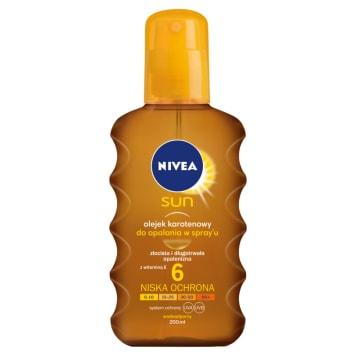 NIVEA SUN SPF 6 sunscreen lotion 200ml