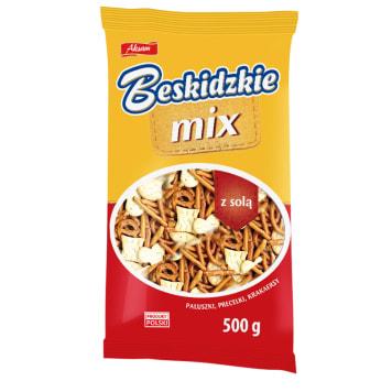BESKIDZKIE MIX Pretzels and crackers sticks  with salt 500g