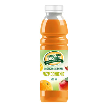SŁONECZNA TŁOCZNIA Juice with orange and mango 500ml