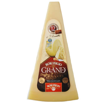 GRAND Hard cheese ripening 12 months 180g