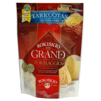 GRAND Hard cheese grated 80g