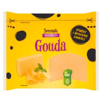 Ser Gouda w kawałku, 250 g – Serenada. Ser dojrzewający typu holenderskiego.