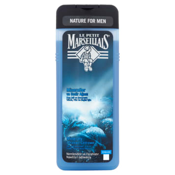 LE PETIT MARSEILLAIS 3in1 shower gel for men Mineral and Cedar Wood 400ml