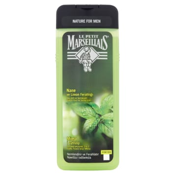 LE PETIT MARSEILLAIS 3 in 1 shower gel for men Mint and Citrus 1 pc