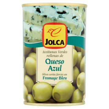 Jolca - Oliwki zielone w puszeczce z serem pleśniowym. Wyjątkowy smak i wysoka jakość.