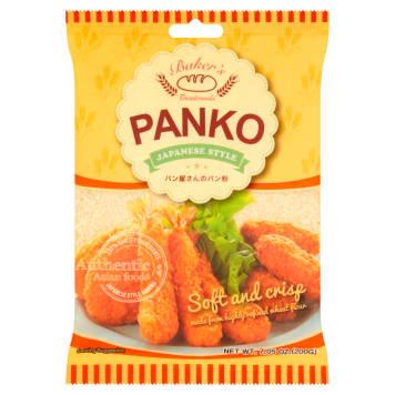 Panierka do potraw - Panko posiada większe kawałki pieczywa niż inne panierki.