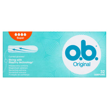 O.B.® Original Tampony Super 32 szt. 1szt