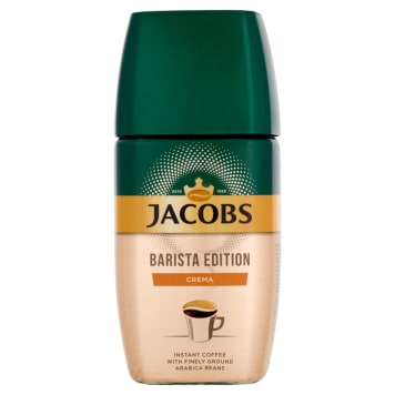 JACOBS Barista Edition Instant coffee and ground coffee beans Crema 155 g