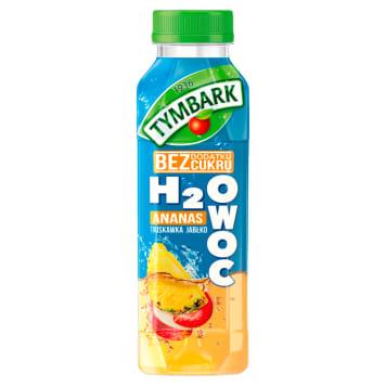 TYMBARK H2Owoc Napój ananas truskawka jabłko 400ml