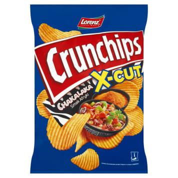 Chipsy Chakalaka - Lorenz Crunchips x-cut. Chipsy o smaku orientalnych przypraw afrykańskich.
