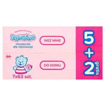 BAMBINO Baby wipes 7x63 pcs 1pc