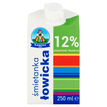 Śmietanka 12% - OSM Łowicz. Zdrowy produkt mleczny niezbędny w każdej kuchni.
