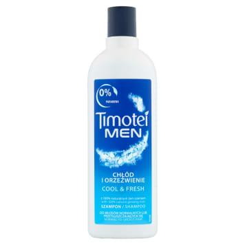 Szampon do włosów TIMOTEI MEN 400ml chłód i orzeźwienie doskonale oczyszcza i pielęgnuje włosy.