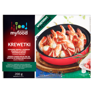 MY FOOD Prawns in smoked bacon 280g