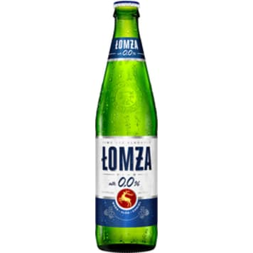 ŁOMŻA Non-alcoholic beer in a bottle 500 ml