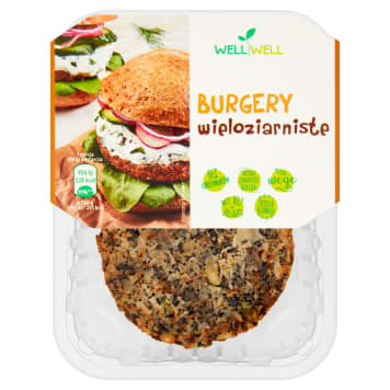WELL WELL Multigrain burgers 160g