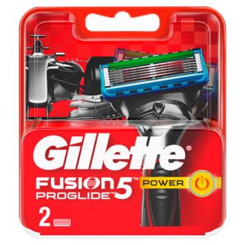 GILLETTE FUSION PROGLIDE Power Blades - 2 per pack 1pc