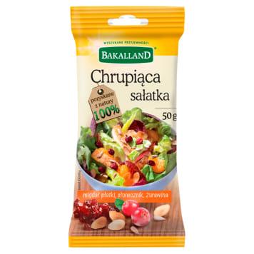 BAKALLAND Crunchy salad - almond flakes, sunflower, cranberry 50g