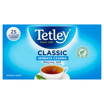 Herbata Czarna 25 torebek - Tetley Classic - klasyka gatunku