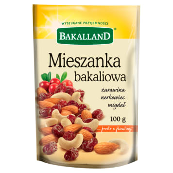 BAKALLAND Nutrition mix cranberry cashew almond 100 g