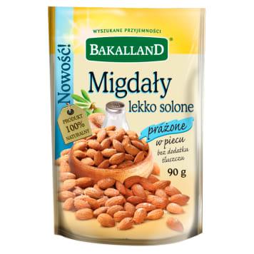 BAKALLAND Lightly salted roasted almonds 90g