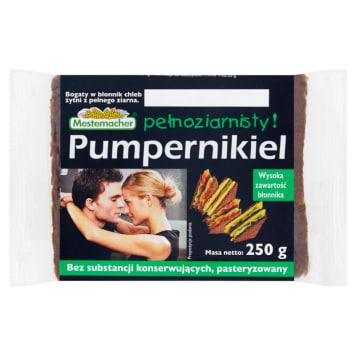Chleb Pumpernikiel - Mestemacher. Doskonały, tradycyjny smak i urzekający świeży zapach.