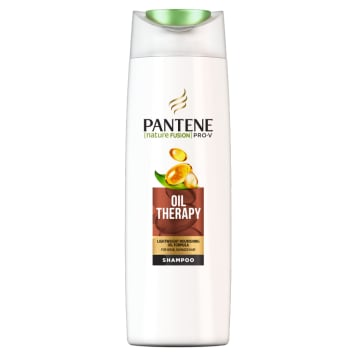 Szampon do włosów Oil Therapy - Pantene Pro-V. Dla suchych i zniszczonych włosów.