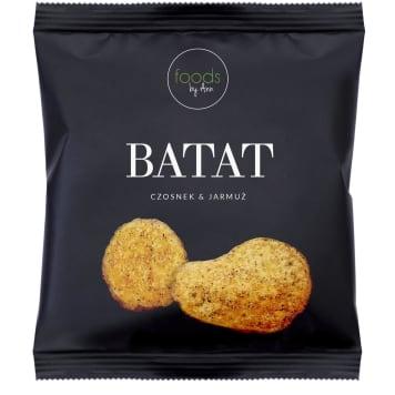 FOODS BY ANN Chipsy BATAT czosnek & jarmuż 15g