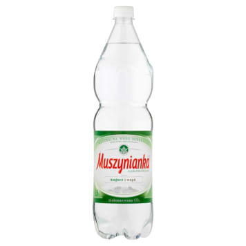 Woda niegazowana z magnezem Muszynianka