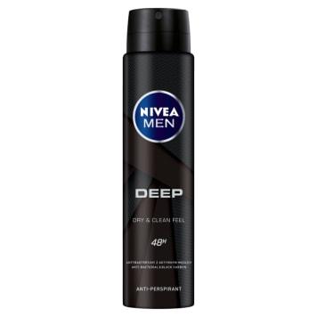 NIVEA MEN Deep Antyperspirant w sprayu 250ml