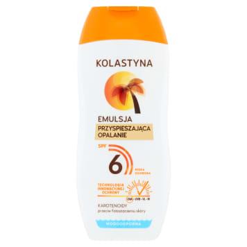 KOLASTYNA SUN Care SPF6 accelerating tanning lotion 200ml