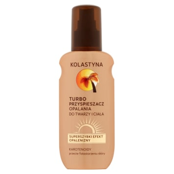 KOLASTYNA SUN Care Turbo tanning accelerator for the face and body 150 ml