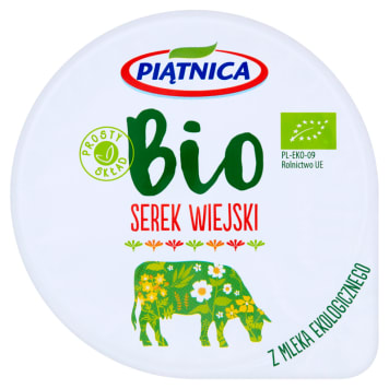 PIĄTNICA Cottage cheese BIO 200ml