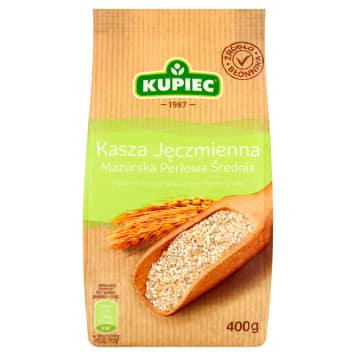 Kuoiec - Kasza jęczmienna mazurska perłowa średnia. Kasza najwyższej jakości.