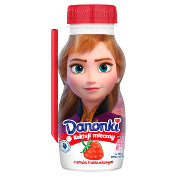 DANONE Danonki Fermented milk with strawberry flavor 185 g