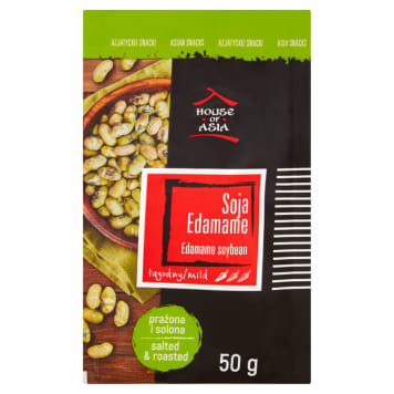 HOUSE OF ASIA Edamame soy roasted and salted 50g