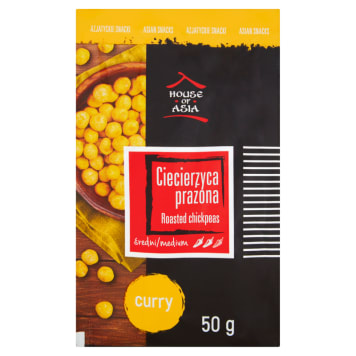 HOUSE OF ASIA Chickpeas roasted curry 50 g