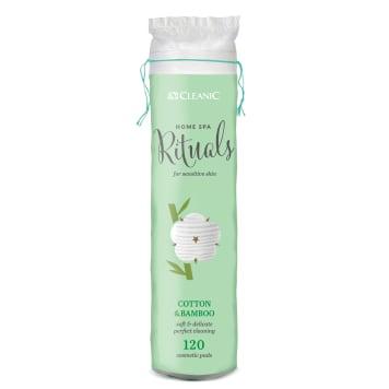 CLEANIC Home Spa Rituals Cotton pads 120 pcs 1pc