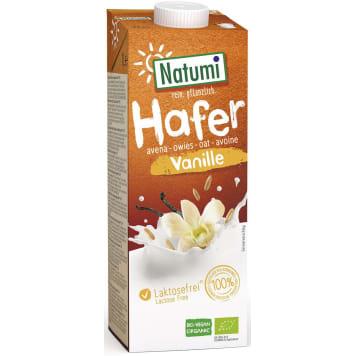 Napój owsiano-waniliowy Bio Natumi to wegański, niskotłuszczowy produkt, idealny na śniadanie.